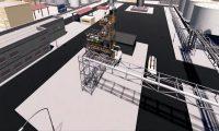 钢铁工厂三维漫游动画:三维安全演示漫游动画制作