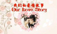 Our love story幸福婚礼动画:flash婚礼广告动画制作