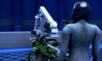 工业机器人机械手臂组装摩托车生产:工业器械三维动画制作