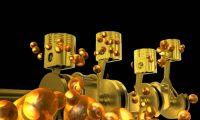 发动机配件动画展示:机械结构动画制作、产品演示动画制作