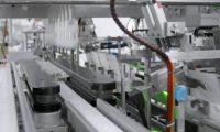 机械无人工厂食品加工生产车间:产品生产三维动画制作